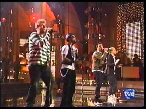 backstreet boys   inconsolable live & a capella @ mira quien baila españa, 2008