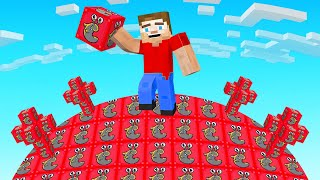 Minecraft BUT The Entire World Is SLOGO LUCKY BLOCKS!