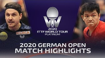 Timo Boll vs Fan Zhendong | 2020 ITTF German Open Highlights (R16)