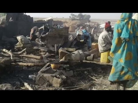 Nigerian jet accidentally bombs refugee camp