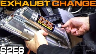 KTM Duke 125 200 390 Exhaust Change LucZyn IXIL L3X Fitting Installing Zmiana Wydechu Sound