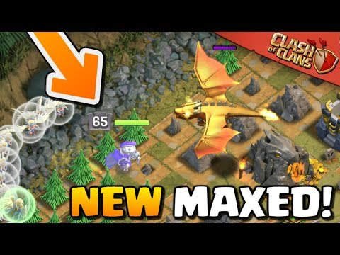 TAKING ON The DRAGON'S LAIR With ONLY HEROES! Immortal Queen And King Attacks   Clash Of Clans