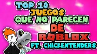 Top 10 des jeux qui ne ressemblent pas à Roblox ft. Poulets de poule