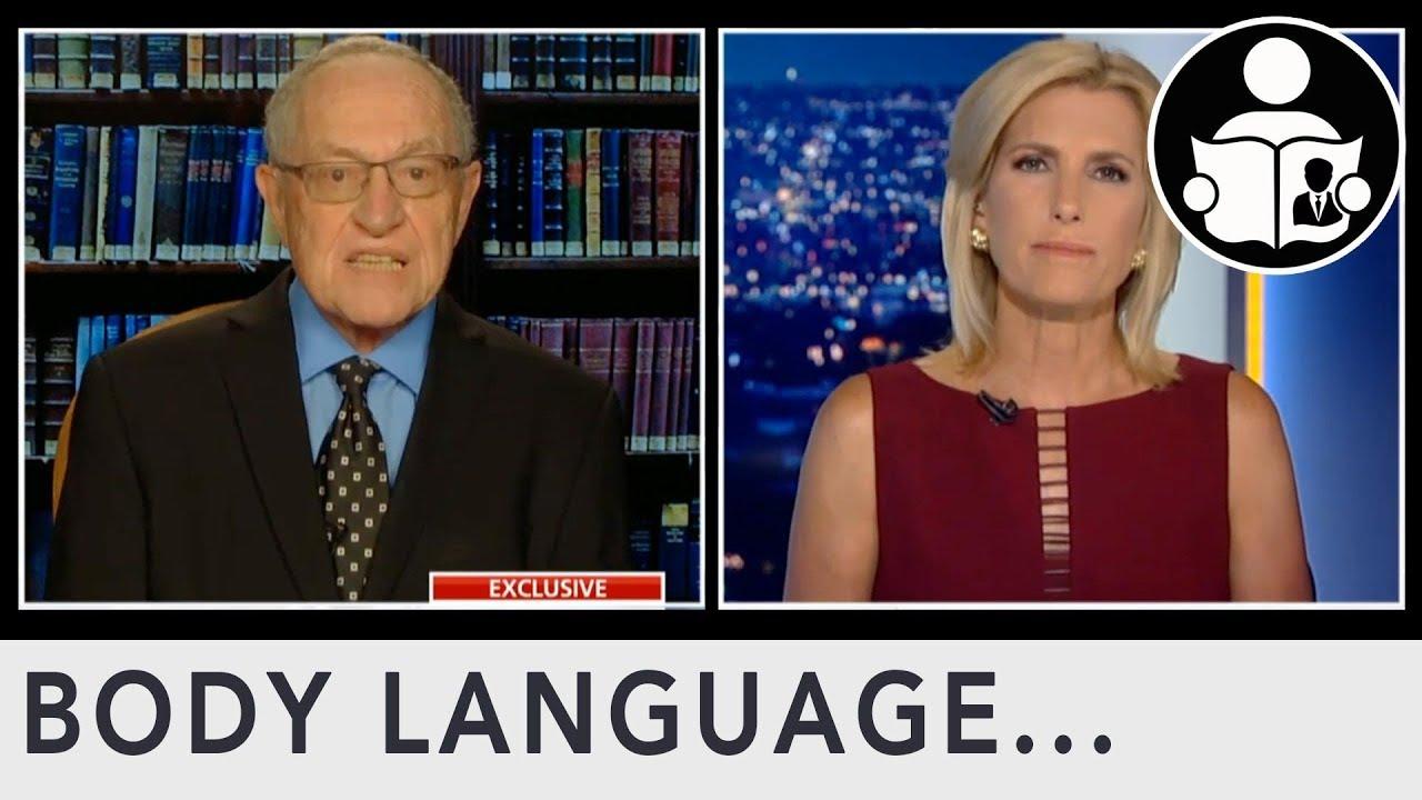 Body Language: Alan Dershowitz's Response to Virginia Giuffre