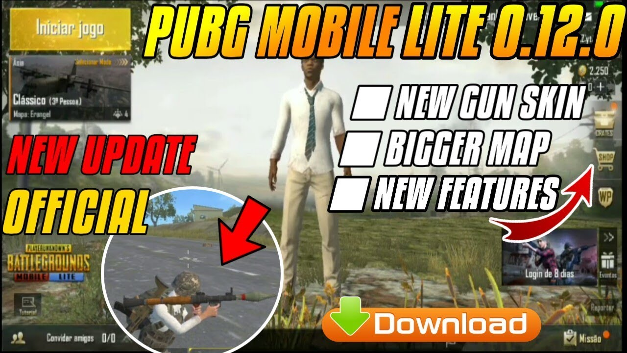DOWNLOAD PUBG MOBILE LITE 0.12.0 OFFICIAL UPDATE || RELEASED