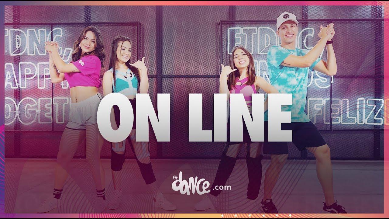 On Line - Taby ft. Julia | FitDance Kids & Teen (Coreografia) | Dance Video