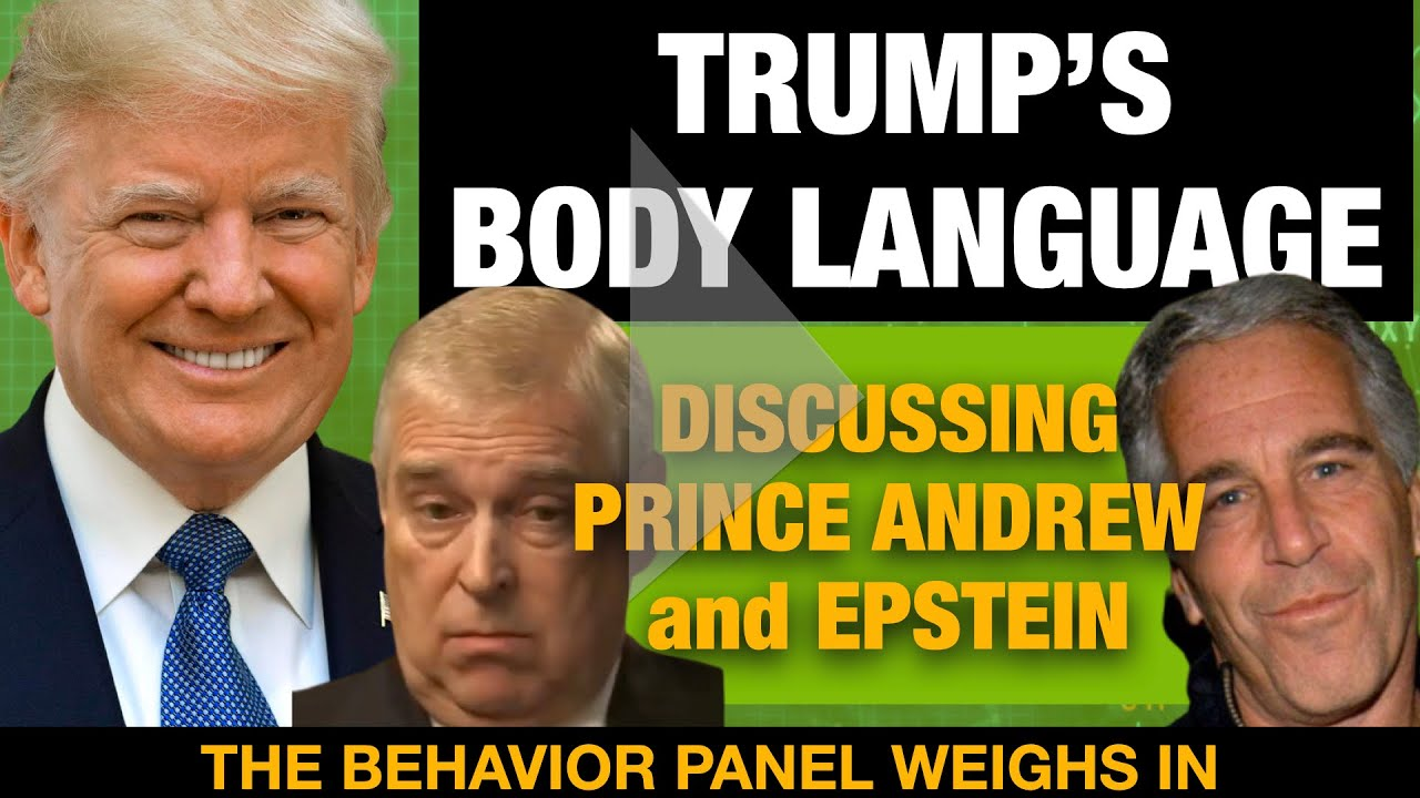 Trump Discussing Prince Andrew And Jeffrey Epstein Body Language