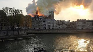 Notre-Dame: Das Feuer ist unter Kontrolle