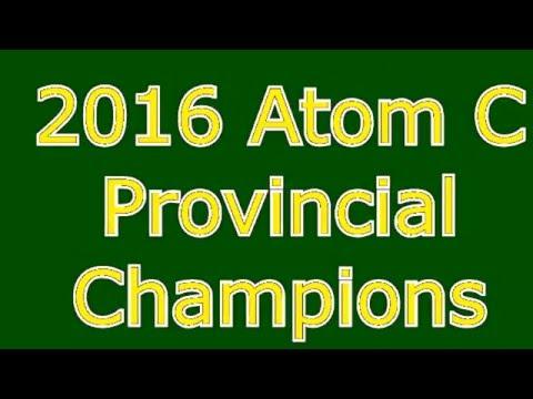 Grimshaw Huskies 2016 Atom C PROVINCIAL CHAMPIONS