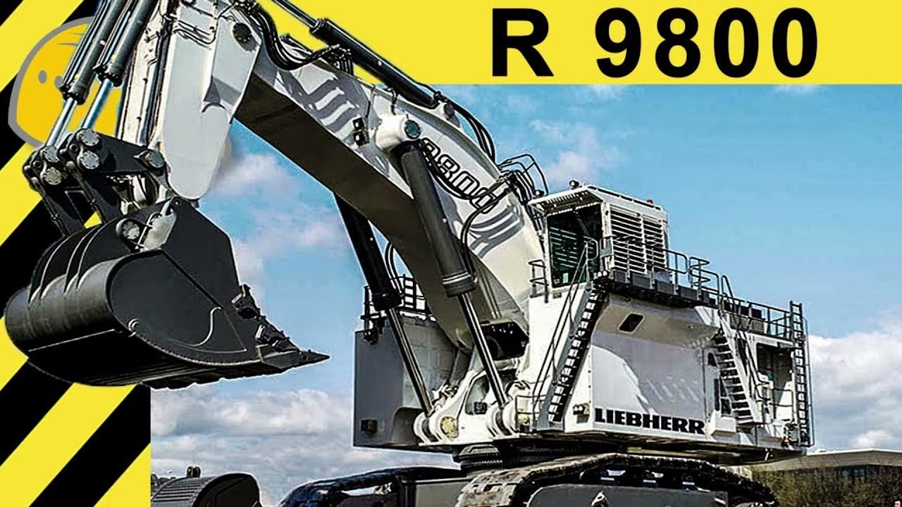 lego technic liebherr r 9800 arrives in august youtube. Black Bedroom Furniture Sets. Home Design Ideas