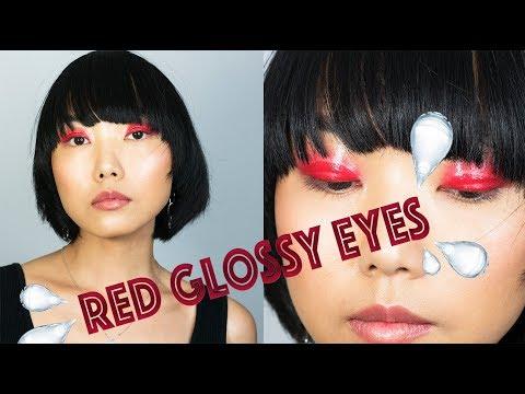 High Fashion Glossy Eyelids | Linda Hallberg Tutorials thumbnail