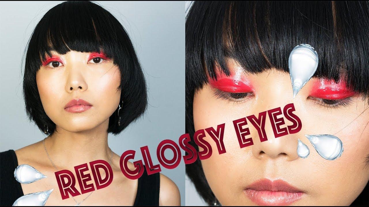 6c56e46a7ccb High Fashion Glossy Eyelids