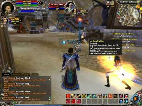 Runes of Magic gameplay