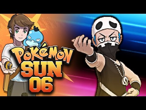Pokémon Sun and Moon - Episode 6 - Marina Showdown!