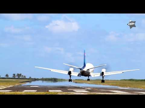 Saab 340 landings at Aitutaki Airport (NCAI) / Cook Islands