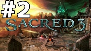 Sacred 3 Gameplay Walkthrough Part 2 (PS3/Xbox 360/PC) Review Let's Play Playthrough