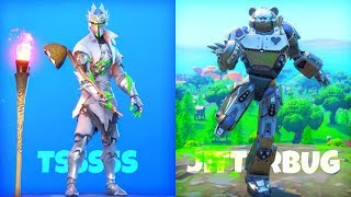 'NEW' Fortnite EMOTES LEAKED GAMEPLAY..! (Jitterbug, Tsssss, Hang On) Fortnite Bataille Royale