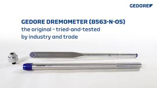 GEDORE DREMOMETER DNR – The enhanced original.