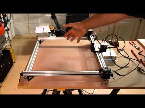 2 Watt Laser Cutter and Engraver Project Part 7 - Connecting the CNC Shield