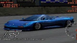 Gran Turismo 2 - Jaguar XJR-15 REVIEW