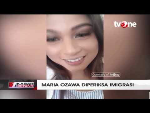 Datang Ke Bali, Maria Ozawa Diperiksa Imigrasi