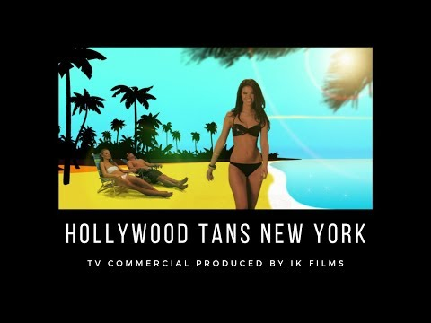 Hollywood Tans New York, TV Commercial Produced By IK Films