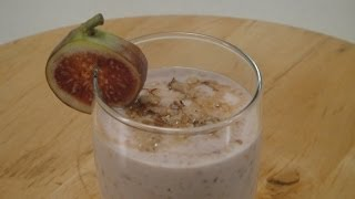 Fig And Honey Smoothie | Sanjeev Kapoor Khazana