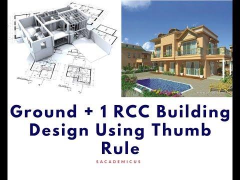 G+1 RCC Building Using Thumb Rule