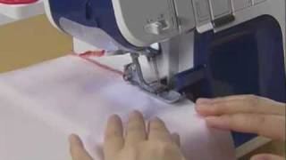 Brother 4234d Overlocker Tutorial