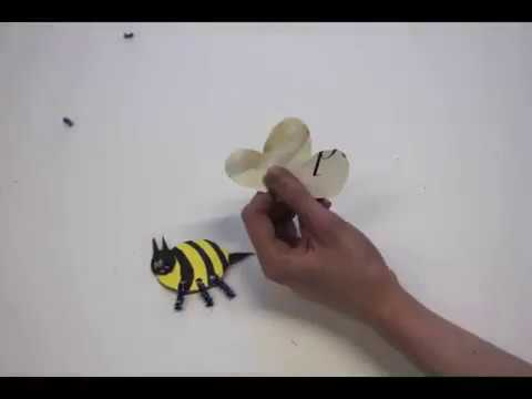 How To Make A Bumble Bee Art And Craft Projects For Kids Youtube