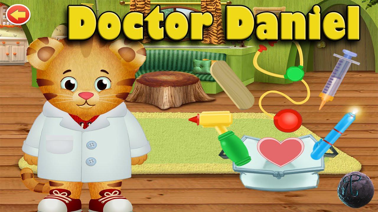 Daniel Tiger S Neighborhood Doctor Daniel Pbs Kids Games