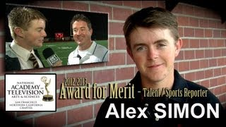 St. Francis Senior Alex Simon receives National Academy of Television Arts & Sciences Student Award