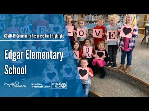 Edgar Elementary School - COVID-19 Community Response Fund Grant Highlight