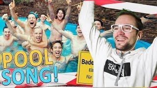 POOLSONG (Wir ham' es geschafft! Ich glaubs nicht) | Julien Bam | REACTION