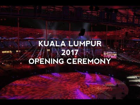 Throwback: Kuala Lumpur 2017 SEA Games Opening Ceremony
