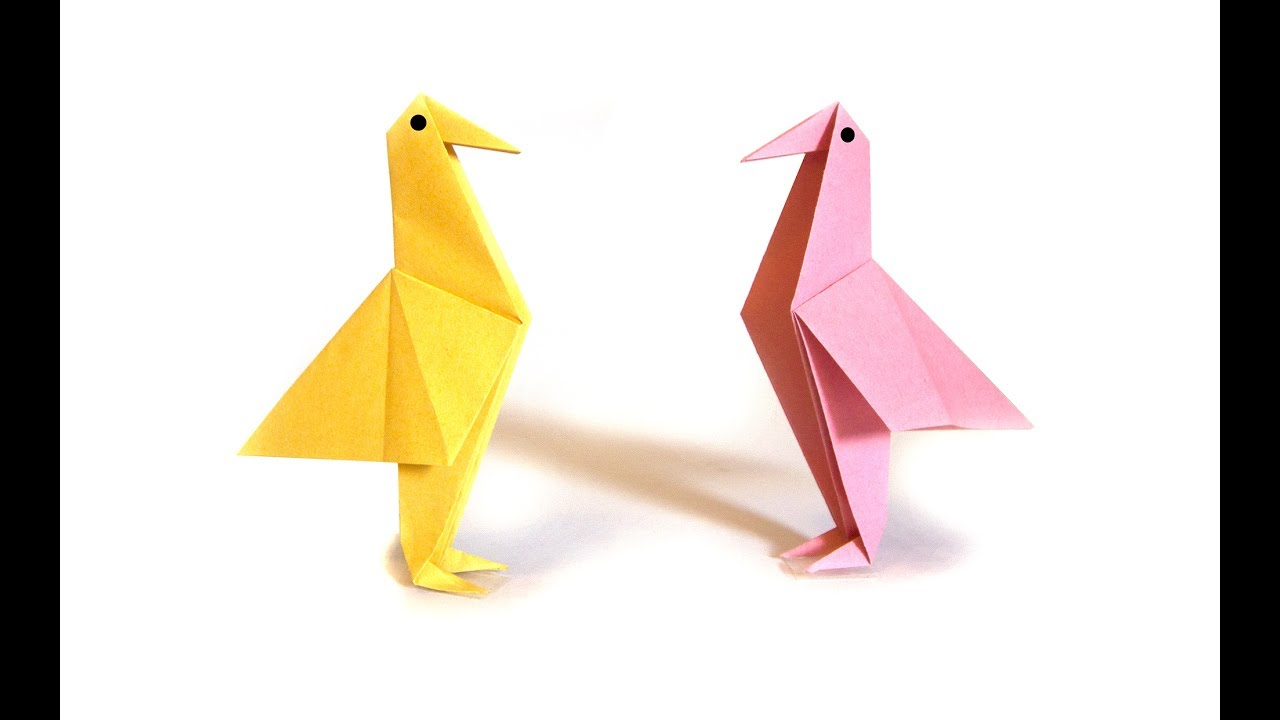 Easter origami bird easy origami tutorial how to make an easy easter origami bird easy origami tutorial how to make an easy origami bird jeuxipadfo Choice Image