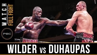 Wilder Vs Duhaupas Full Fight: Pbc On Nbc Sept. 26, 2015