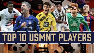 Top 10 usmnt players right now