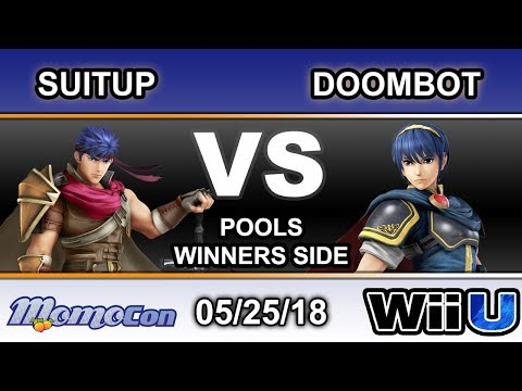 Momocon 2018 - SuitUp (Ike) Vs. P2W | Doombot (Marth) Pools - Smash 4