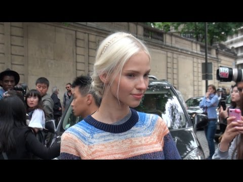 Fashion Week Paris SASHA LUSS  N1