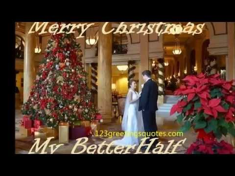 lovely merry christmas wishes video greeting husband wife partner song 2014 new year 2015 original youtube