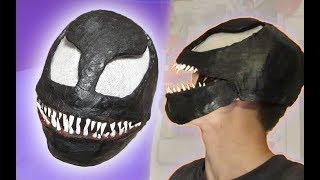 HOW TO MAKE VENOM MASK | Venom 2018