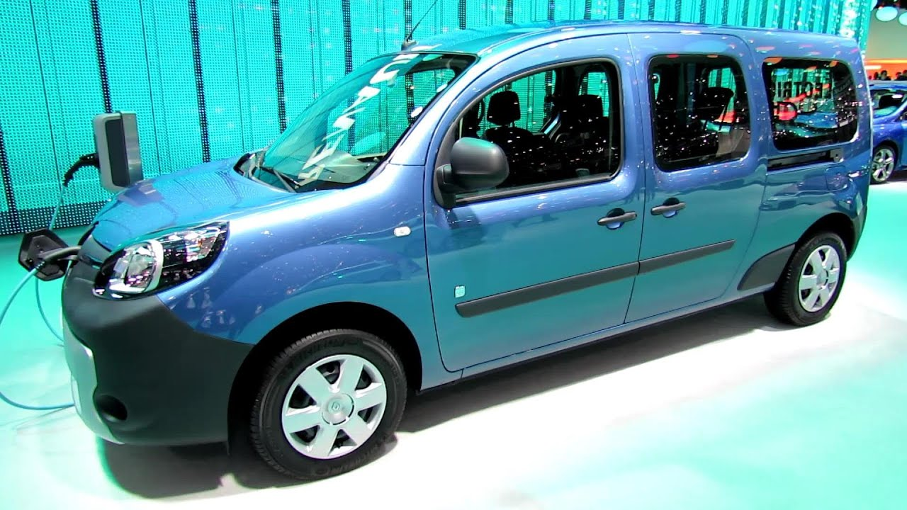 2014 renault kangoo ze electric vehicle exterior and. Black Bedroom Furniture Sets. Home Design Ideas