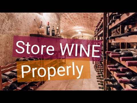 How To Store Wine   7 Tips For Aging Wine And Storage