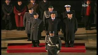 German National Anthem - Gerhard Schröder Farewell