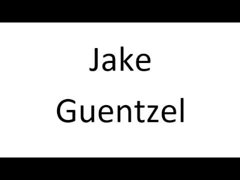 How to Pronounce Jake Guentzel - Pittsburgh Penguins NHL Hockey Player