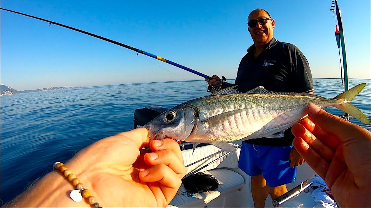 La Tecnica di Pesca più TRADIZIONALE! Pesca dalla Barca con la Pastura - Light Drifting con la Sarda
