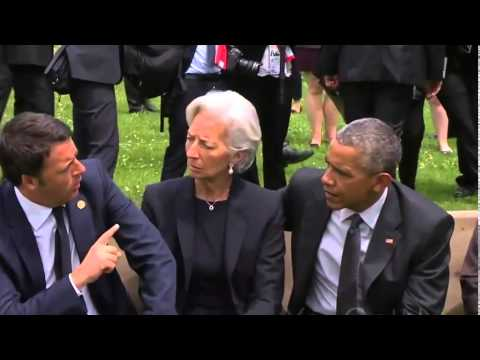 The Awkward Moment Between President Obama and Iraqi Primier at G7 Summit Germany