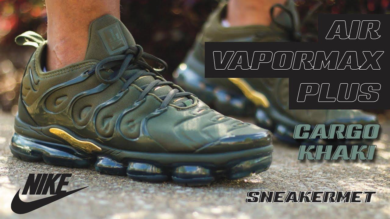 cargo khaki vapormax plus