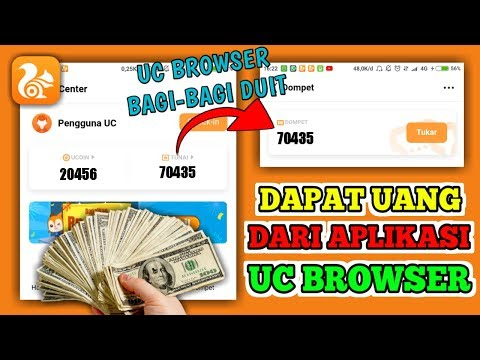 Terbaru!!! Cara Mendapatkan Uang Di Aplikasi UC Browser